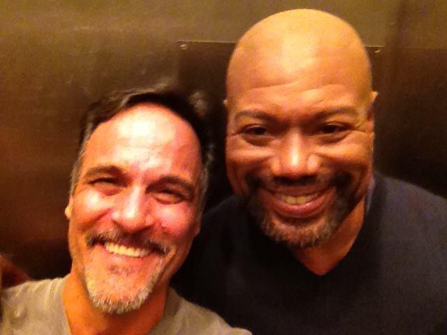 Christopher Judge and Deke Anderson